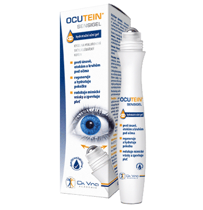 Ocutein Sensigel – hydratačný očný gél 15 ml