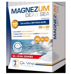 MAGNEZUM DEAD SEA DA VINCI ACADEMIA
